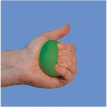 Anti stressbal groen 45mm  (VM708A)