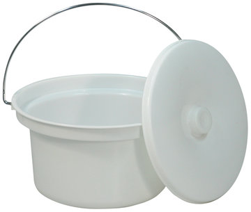 5 L Commode Emmer en deksel (VS216)